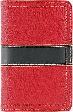 Духи, Парфюмерия, косметика Чехол для маникюрных инструментов, на 10 предметов, красный - Элита