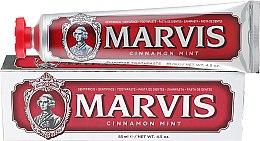 Духи, Парфюмерия, косметика Зубная паста Корица и Мята - Marvis Cinnamon Mint