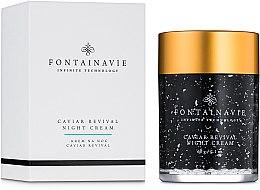 "Духи, Парфюмерия, косметика Ночной крем ""С икрой"" - Federico Mahora Fontainavie Caviar Revival Night Cream"