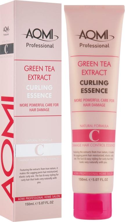 Эссенция для кудрявых и вьющихся волос с эффектом стайлинга - Aomi Green Tea Extract Curling Essence