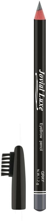 Карандаш для бровей - Jovial Luxe Soft and Silk Eybrow Pensil