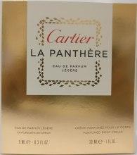 Духи, Парфюмерия, косметика Cartier La Panthere - Набор (edp/9ml + b/crm 30ml)