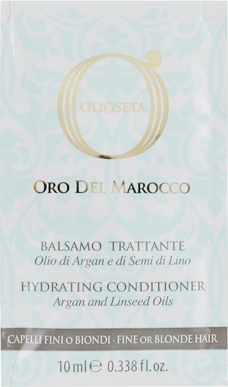 Кондиционер для тонких и светлых волос - Barex Italiana Olioseta Oro Del Morocco Balsamo (пробник)