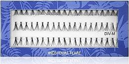 Духи, Парфюмерия, косметика Накладные пучковые ресницы M - Muba Factory Individual Flare Thick Mubalashes