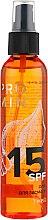 Духи, Парфюмерия, косметика Масло для загара SPF 15 - J'erelia Promin'chik