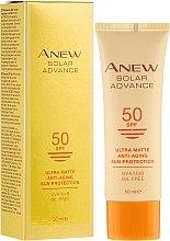 Духи, Парфюмерия, косметика Омолаживающий крем для лица - Avon Anew Solar Advance SPF50