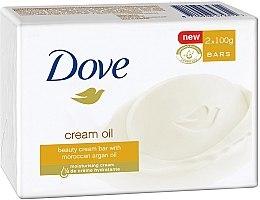 "Духи, Парфюмерия, косметика Крем-мыло ""Драгоценные масла"" - Dove Cream Oil Beauty Bar With Moroccan Oil"