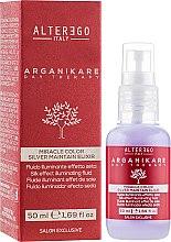 Духи, Парфюмерия, косметика Эликсир для блеска волос против желтизны - Alter Ego Arganikare Miracle Color Silver Maintain Elixir