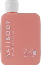 Духи, Парфюмерия, косметика Масло для загара с персиком с защитой - Bali Body Peach Tanning Oil SPF15