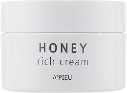 Духи, Парфюмерия, косметика Крем для сияния кожи лица с медом - A'pieu Manuka Honey Rich Cream
