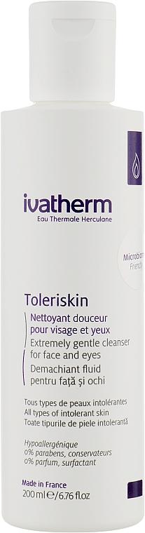 Очиститель для лица и глаз - Ivatherm Toleriskin Milk Cleansing Fluid Face & Eyes