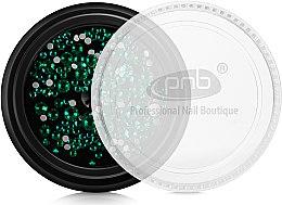 Духи, Парфюмерия, косметика Стразы для ногтей - PNB Green Mix SS2,3,6,8,10,12 Glass