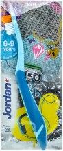 Духи, Парфюмерия, косметика Детская зубная щетка Step 3 (6-9) мягкая, голубая - Jordan