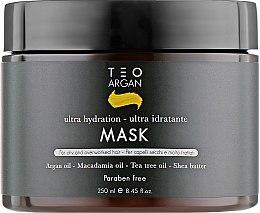 Духи, Парфюмерия, косметика Маска для волос с аргановым маслом - Teotema Argan Mask