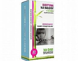 Духи, Парфюмерия, косметика Биотин для волос + кремний - Noble Health Biotin For Hair + Silicon