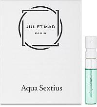 Духи, Парфюмерия, косметика Jul et Mad Aqua Sextius - Духи (пробник)