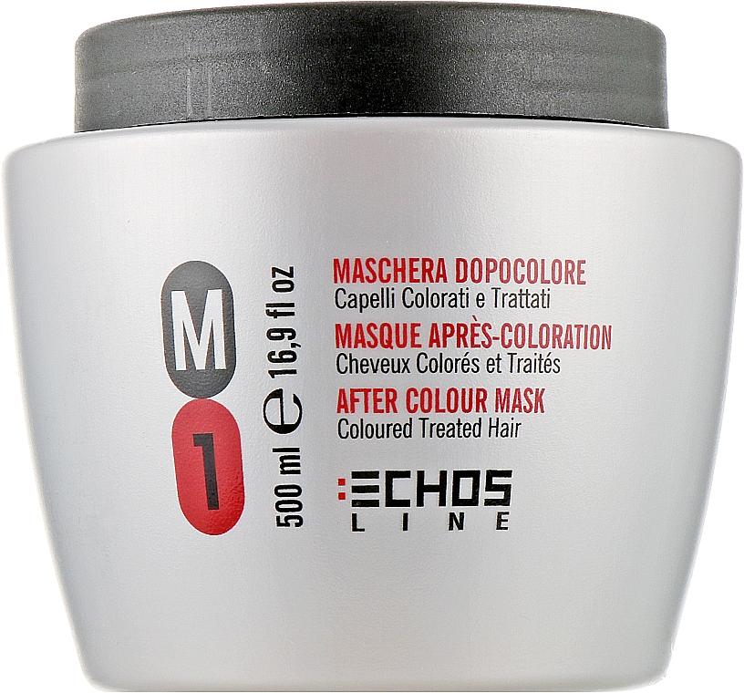 Маска для окрашенных и поврежденных волос - Echosline M1 After Color Mask