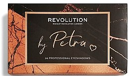 Палетка теней для век - Makeup Revolution X Petra 36 Shade Eyeshadow Palette — фото N4