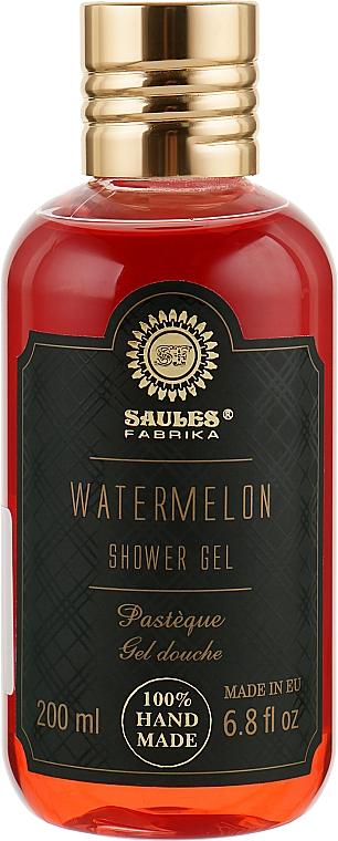 "Гель для душа ""Арбуз"" - Saules Fabrika Shower Gel"