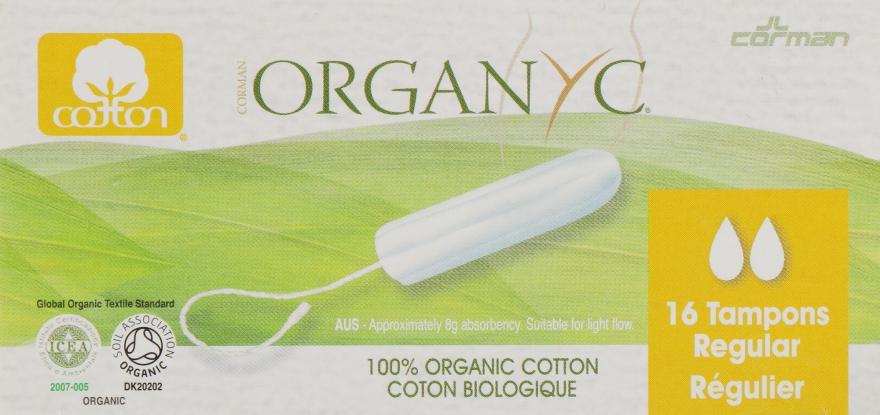 Тампоны из органического хлопка, 16 шт - Corman Organyc Digital Regular