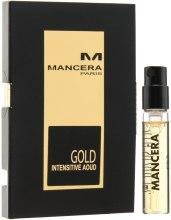 Духи, Парфюмерия, косметика Mancera Voyage en Arabie Gold Intensive Aoud - Парфюмированная вода (пробник)