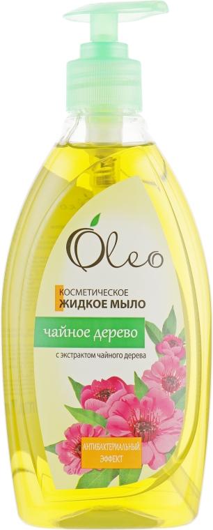 """Косметическое жидкое мыло """"Чайное дерево"""" - Oleo"""