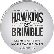 Духи, Парфюмерия, косметика Воск для усов и бороды - Hawkins & Brimble Moustache Wax