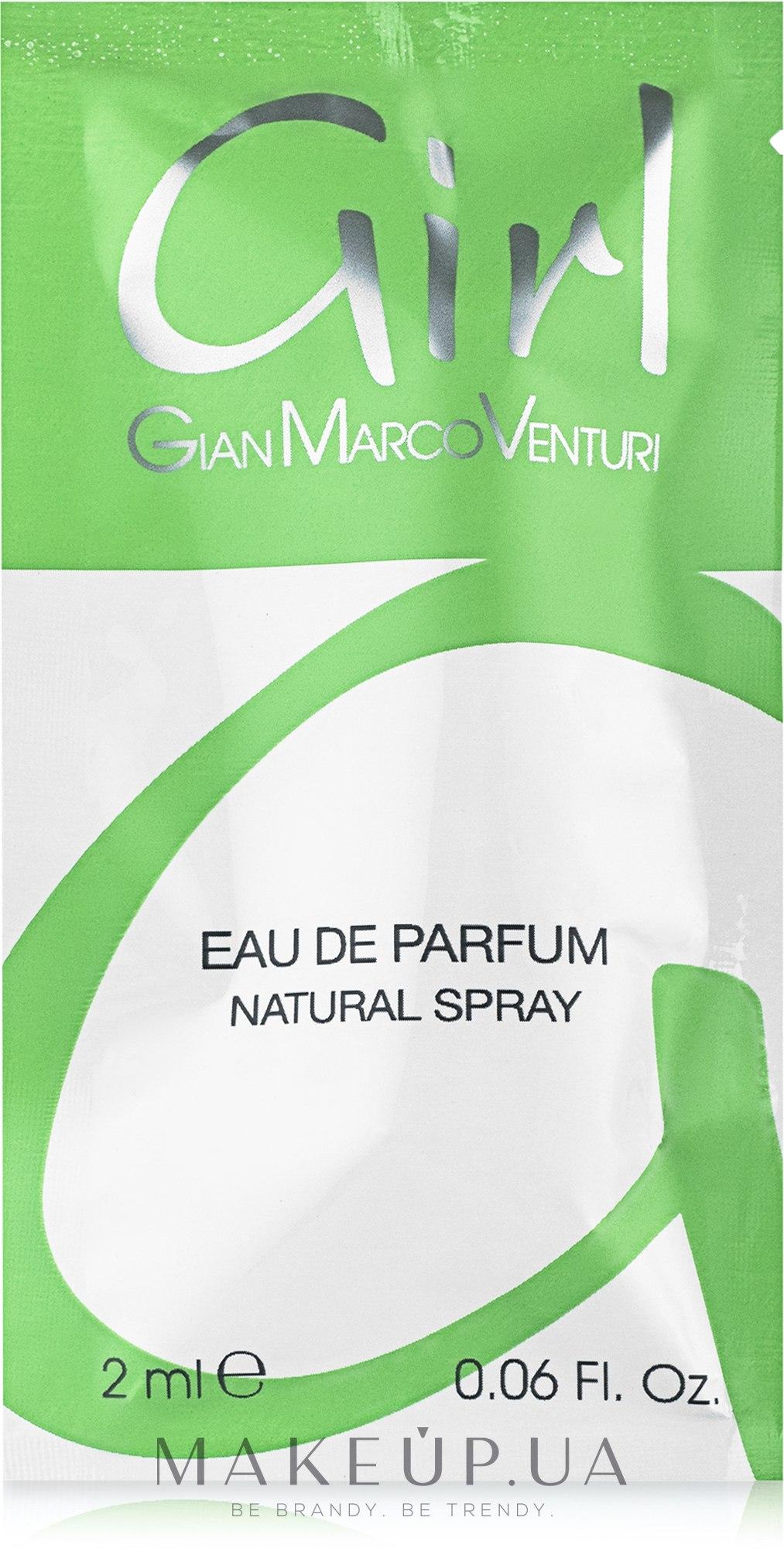 Gian Marco Venturi Girl - Парфюмированная вода (пробник) — фото 2ml