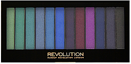 Духи, Парфюмерия, косметика Палетка теней для век - Makeup Revolution Redemption Mermaids VS Unicorns