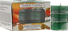 Духи, Парфюмерия, косметика Чайные свечи - Yankee Candle Alfresco Afternoon