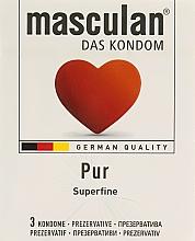 """Парфумерія, косметика Презервативи """"Pur"""" - Masculan"""