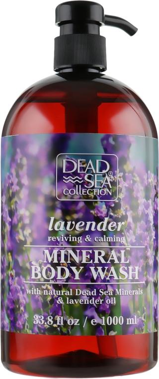 Гель для душа с минералами Мертвого моря и маслом лаванды - Dead Sea Collection Lavender Body Wash