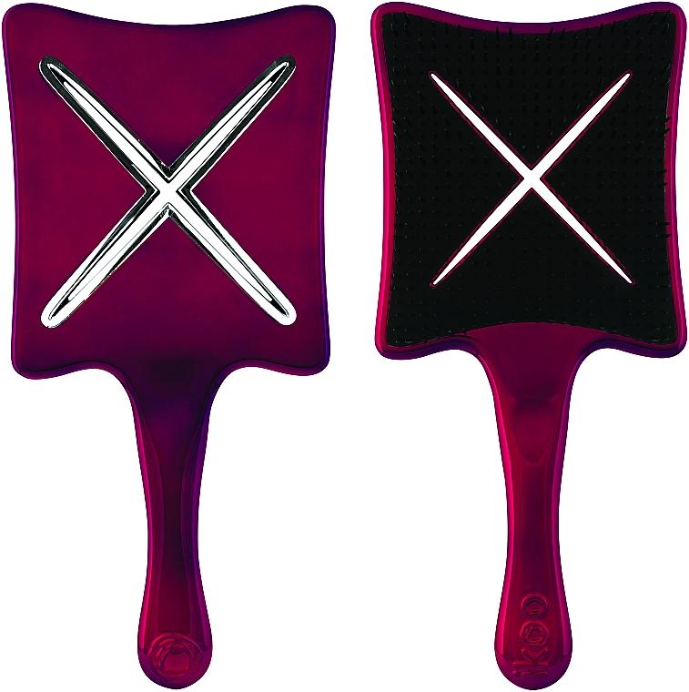 Расческа-детанглер - Ikoo Paddle X Metallic Let's Tango