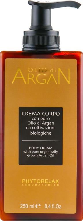 Крем для тела с аргановым маслом - Phytorelax Laboratories Olio Di Argan Body Cream