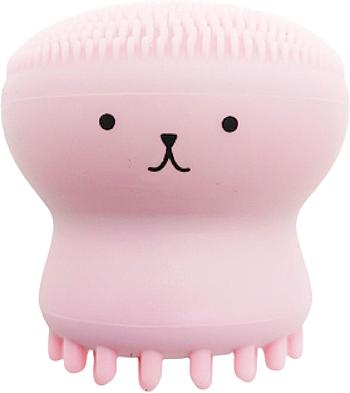 Силиконовый спонж для умывания и массажа, розовый - Miss Claire