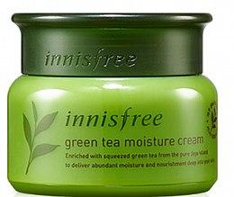 Духи, Парфюмерия, косметика Крем для лица с экстрактом зеленого чая - Innisfree Green Tea Moisture Cream