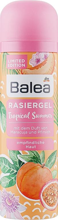 Гель для бритья - Balea Tropical Summer