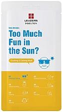 Духи, Парфюмерия, косметика Маска для лица - Leaders Daily Wonders Too Much Fun In The Sun? Soothing & Calming Mask