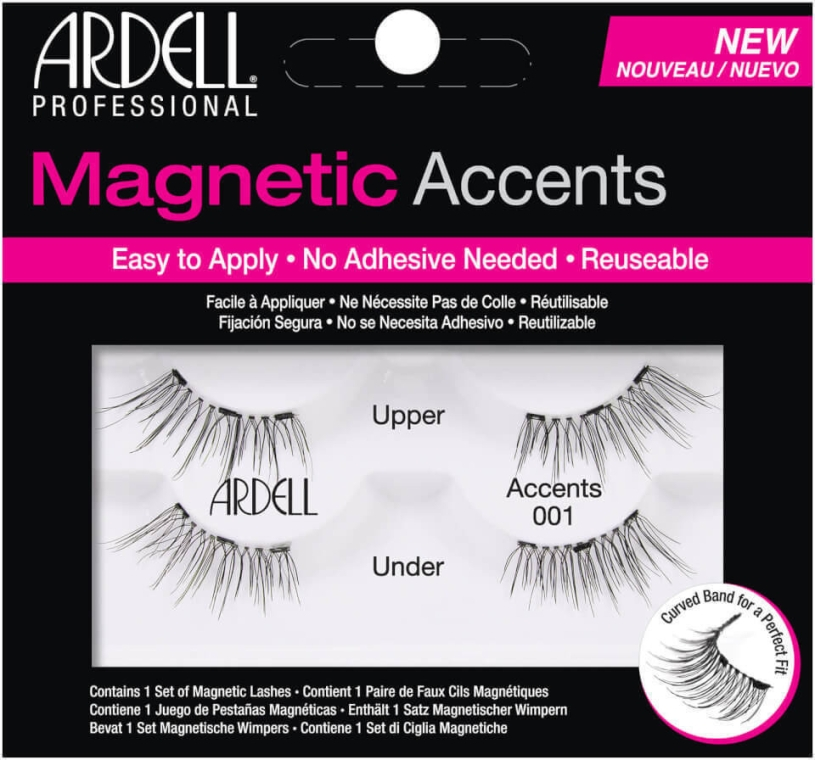 Накладные ресницы - Ardell Magnetic Lashes Accents 001