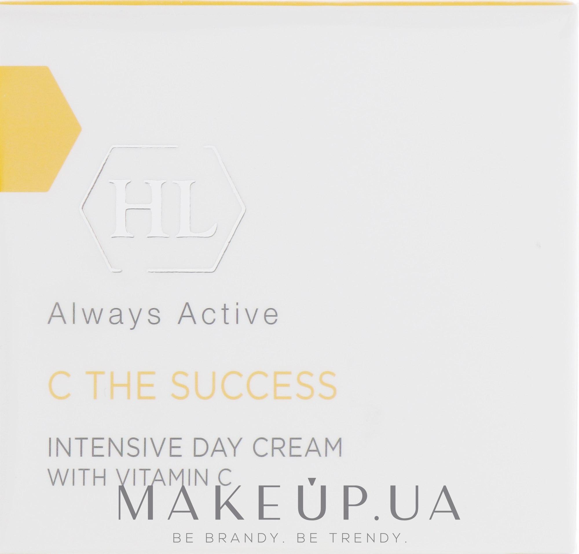 Интенсивный дневной увлажняющий крем с витамином C - Holy Land Cosmetics C the Success Intensive Day Cream — фото 50ml
