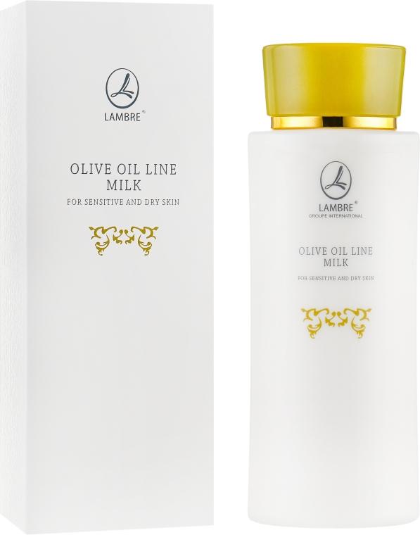 Молочко для снятия макияжа - Lambre Olive Oil Line Milk