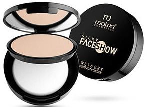 Пудра компактная - Malva Cosmetics Face Show Wet & Dry