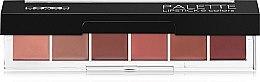 Духи, Парфюмерия, косметика Палетка помад для губ - Lamel Professional Palette Lipstick (тестер)