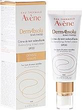 Духи, Парфюмерия, косметика Крем для лица - Avene Eau Thermale Derm Absolu Cream SPF30