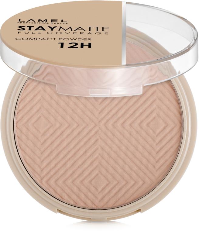Пудра компактная матирующая - Lamel Professional Stay Matte Compact Powder