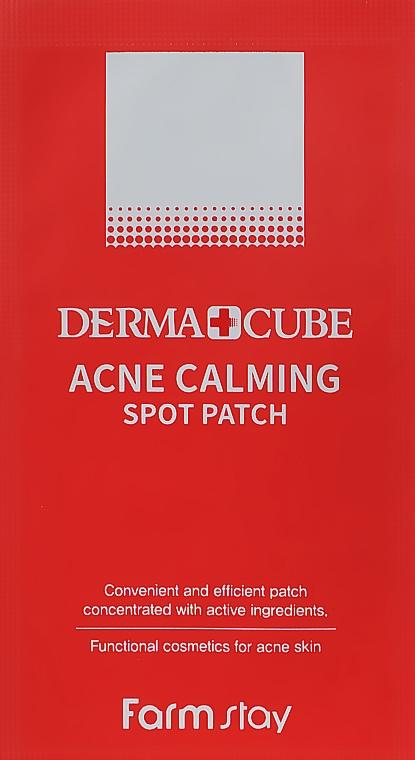 Точечные патчи от прыщей - Farmstay Derma Cube Acne Calming Spot Patch