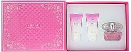 Духи, Парфюмерия, косметика Versace Bright Crystal - Набор (edt/50ml + b/l/50ml + s/g/50ml)