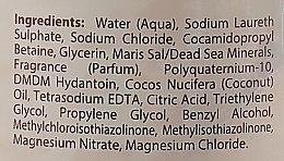 Шампунь с минералами Мертвого моря и кокосовым маслом - Dead Sea Collection Coconut Mineral Shampoo — фото N3