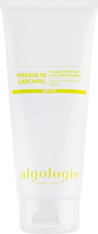 Очищающая крем-маска с морскими водорослями и глиной - Algologie Sea Clay Purifying Mask