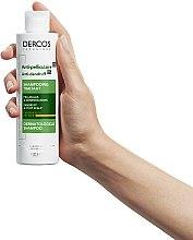 Шампунь против перхоти интенсивного действия для сухих волос - Vichy Dercos Anti-Dandruff Treatment Shampoo — фото N6